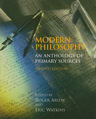 Modern Philosophy By Ariew, Roger (EDT)/ Watkins, Eric (EDT)